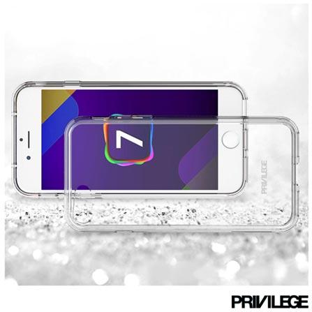 Capa Protetora para iPhone SE Pelican com Fechamento pelas Laterais em Plástico  Privilege - PRIVPELIIPSECLR, Não se aplica, Capas e Protetores, 06 meses