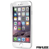 Película Protetora para iPhone 6 de Vidro Transparente - PRIVPIP6CLR