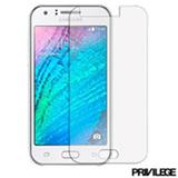 Película Protetora para Galaxy J3 de Vidro Transparente - Privilege - PRIVPJ3