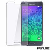 Película Protetora para Galaxy J5 de Vidro Transparente - Privilege - PRIVPJ5