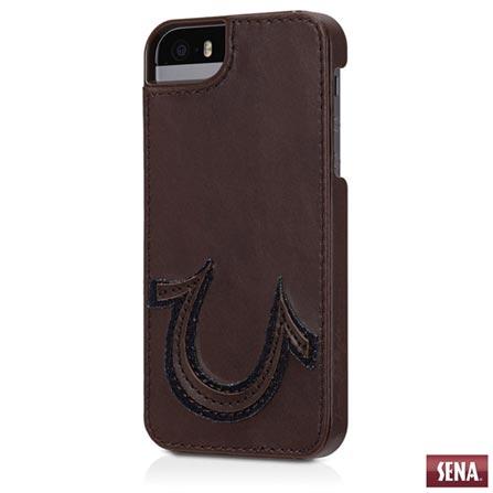 Capa Bobby Snap-On da True Religion para iPhone 5 e 5s Marrom - Sena - SENAUT00001, Marrom, Capas e Protetores, 03 meses