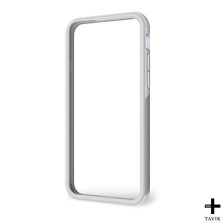Capa para IPhone 6 Outer Edge Branca e Cinza Tavik  - TVK-IPH-064-WHT/LTGRY, Branco e Cinza, Capas e Protetores, 12 meses