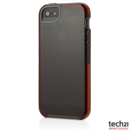 Capa para iPhone 5 e 5S de TPU e D3O Cinza - Tech 21 - T21-2156, Cinza, Capas e Protetores, 12 meses