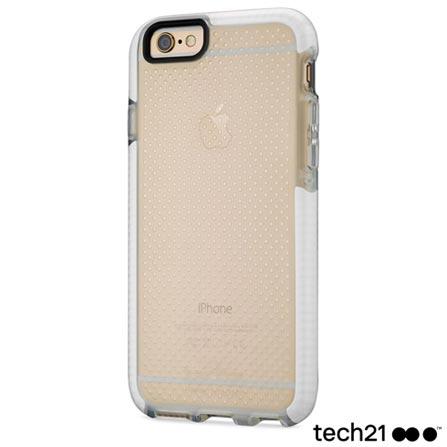 Capa para iPhone 6 e 6s Tech 21 Evo Mesh Sport em FlexShock Branca Transparente - T215059, Branco, Capas e Protetores, 12 meses