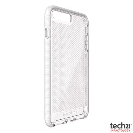 Capa para iPhone 7 Plus Evo Check Transparente e Branco - T21-5348 - Tech21, Branco, Capas e Protetores, 06 meses