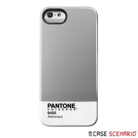 Capa para iPhone 5 Astronaut Prata - Case Scenario - PA-IPH5-M-AS, Prata, Capas e Protetores, 12 meses