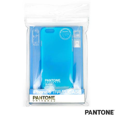 Capa para iPhone 6 Travel Case Azul Pantone - PAIP6STR01, Azul, Capas e Protetores, 06 meses