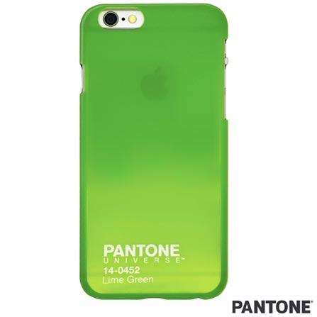 Capa para iPhone 6 Travel Case Verde Limão Pantone - PAIP6STR02, Verde, Capas e Protetores, 06 meses