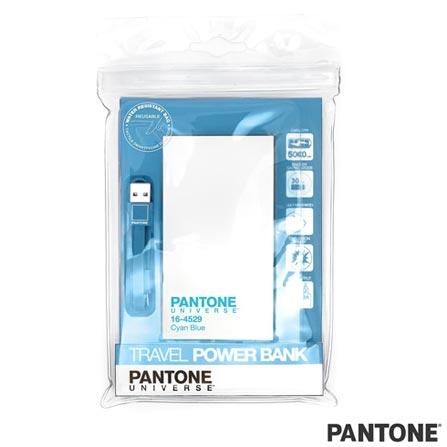 Carregador Portátil Travel 5000 mAh Azul Pantone - PAPB5001, Azul, Smartphones e Tablets, 06 meses