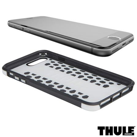 Capa para iPhone 7 Plus de Policarbonato Branca e Preta - Thule - 3202472, Branco e Preto, Capas e Protetores, 24 meses
