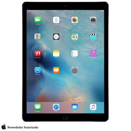 "iPad Pro Space Gray, 12,9"", Wi-Fi, iOS,  A9X e 32 GB + Microsoft Office 365 Personal com 01 ano de Assinatura, 1"