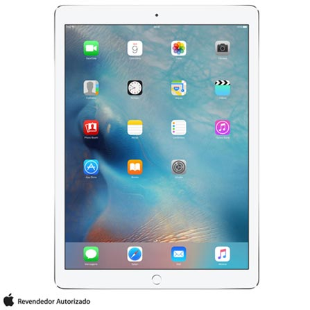 "iPad Pro Silver com 12,9"", Wi-Fi, iOS, A9X e 32 GB + Microsoft Office 365 Personal para PC, Mac e Dispositivo Móvel, 0"