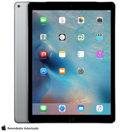 "iPad Pro Space Gray, 12,9"", 4G, iOS, A9X, 128 GB + Microsoft Office 365 Personal com 01 ano de Assinatura, 0"