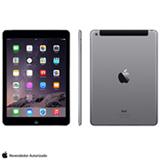 iPad Mini Retina Preto e Cinza com 7,9', 4G, iOS 7, Processador A7 e 16 GB