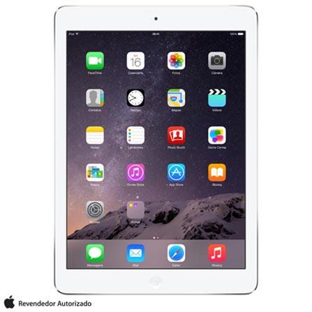 iPad Mini com Tela de Retina 16GB Apple, Tela IPS, Wi-Fi + 4G ME814BRA, Bivolt, Bivolt, Branco e Prata, 0000009.70, 000016, 1, N, APPLE, 003412, A7, iOS, 0000008.00, I, Não se aplica, 5.0 MP, 12 meses, Até 10''