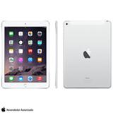 iPad Air 2 Prata com 9.7, 4G e Wi-Fi, iOS 8, Processador A8X, 16 GB