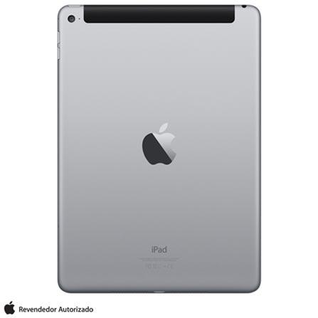 "iPad Air 2 Space Gray, com Tela de 9,7"", 4G, 64 GB e Processador A8X – MGHX2BR/A, Bivolt, Bivolt, Cinza, 0000009.70, 000064, 1, N, APPLE, 003412, A8X, iOS, 0000009.70, I, Nano Chip, 8.0 MP, 64 GB, Wi-Fi + 4G, 12 meses, Até 10''"