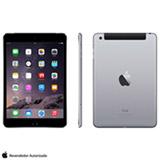 "iPad Mini 3 Space Gray com 7.9"", 4G, Wi-Fi, iOS 8, Processador A7 e 64 GB"