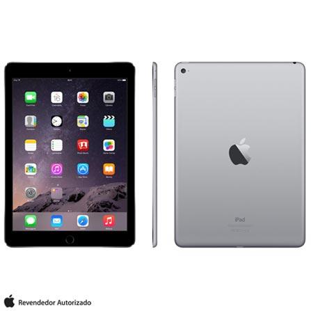 """iPad Air 2 Cinza Espacial com 9,7"""", Wi-Fi, iOS 8, Processador A8X e 64 GB, Bivolt, Bivolt, Cinza, 0000009.70, 000064, 1, N, APPLE, 003412, A8X, iOS, 0000009.70, Sim, 8.0 MP, 64 GB, Wi-Fi, 12 meses, Sim, Sim, A8X, Não, iOS, Até 10'', 9.7'', LED Touchscreen, Não"""
