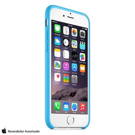 Capa para iPhone 6 de Silicone Azul Apple - MGQJ2ZM/A, Azul, Capas e Protetores, 12 meses