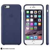 Capa para iPhone 6 Plus de Couro Azul Marinho Apple - MGQV2ZM/A