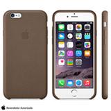 Capa para iPhone 6 de Couro Marrom Apple - MGR22ZM/A