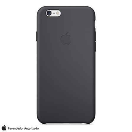 Capa Silicone para iPhone 6 Plus Preta – Apple - MGR92ZMA, Capas e Protetores, 12 meses