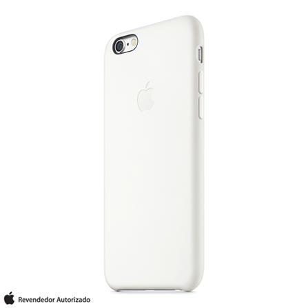 Capa para iPhone 6 Plus de Silicone Branca - Apple - MGRF2ZMA, Branco, Capas e Protetores, 12 meses