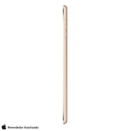 """iPad Mini 3 Dourado com 7.9"""", Wi-Fi, iOS 8, Processador A7 e 128 GB, Bivolt, Bivolt, Dourado, 0000007.90, 000128, 1, N, APPLE, 003412, A7, iOS, 0, Sim, 5.0 MP, 128 GB, Wi-Fi, 12 meses, Sim, Sim, A7, Não, iOS, Até 10'', 7.9'', LED Touchscreen, Não"""