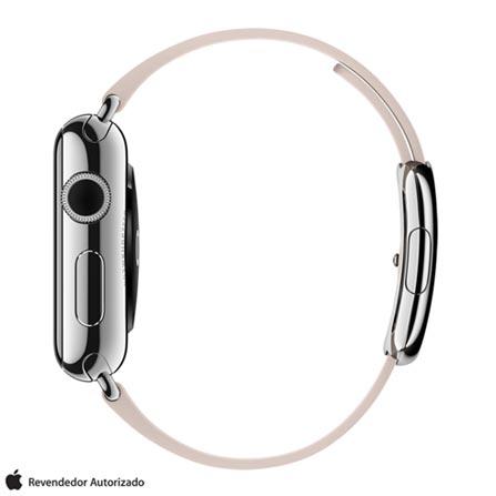 , Prata, 38 mm, watchOS, Não especificado, 8 GB, Não, 12 meses