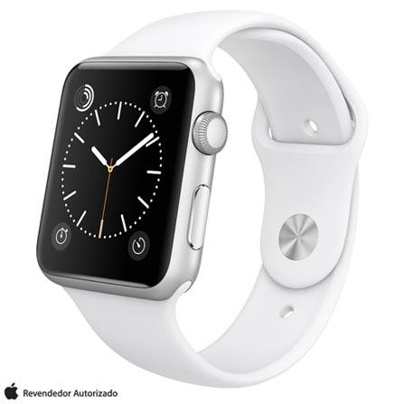 , Prata, 42 mm, watchOS, Não especificado, 8 GB, Não, 12 meses