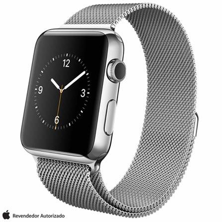 , Cinza, 42 mm, watchOS, Não especificado, 8 GB, Não, 12 meses
