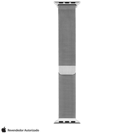 Pulseira Milanês para Apple Watch 38 mm Prata - MJ5E2BZ/A, Prata