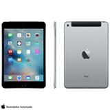 "iPad Mini 4 Space Gray com 7,9"", Wi-Fi, 4G, iOS 9.0, Processador A8 e 128GB"