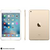 """iPad Mini 4 Dourado com 7,9"""", Wi-Fi, iOS 9, Processador A8 e 128 GB"""