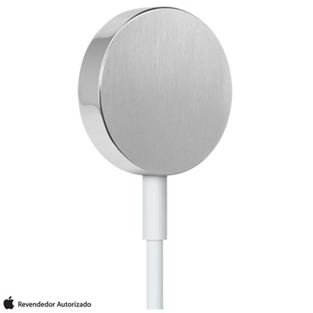 Cabo com Carregador Magnético para Apple Watch de 1 Metro Branco - MKLG2BZ/A, Branco