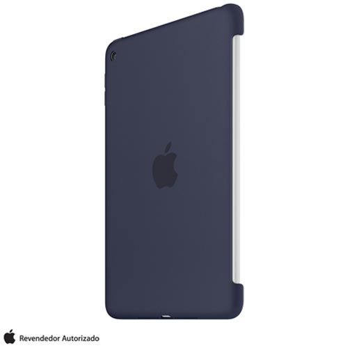 Capa para iPad Mini 4 de Silicone Azul Meia-Noite - Apple - MKLM2BZ/A, Azul