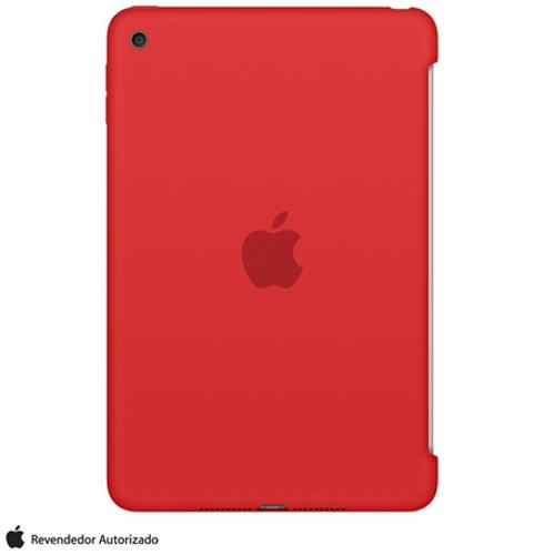 Capa para iPad Mini 4 de Silicone Vermelho - Apple - MKLN2BZ/A, Vermelho