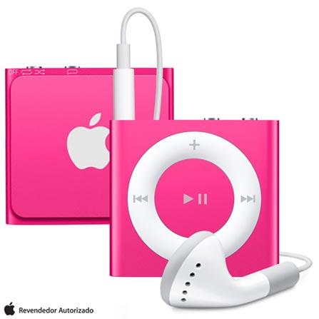 iPod Shuffle 2 GB Rosa, Bivolt, Bivolt, Rosa, 02 GB, iPod Shuffle