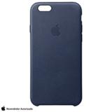Capa para iPhone 6s Plus em Couro Azul Meia-Noite- Apple - MKXD2BZA