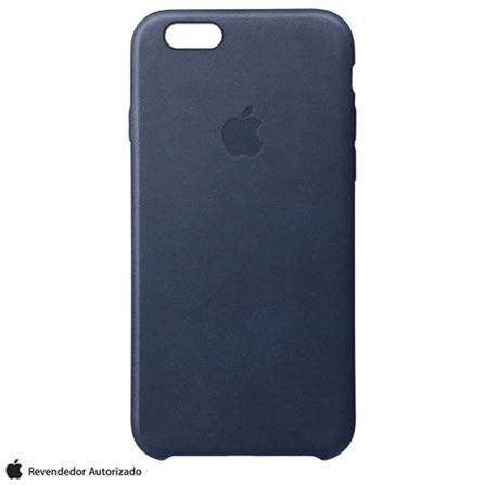 Capa para iPhone 6s Plus em Couro Azul Meia-Noite- Apple - MKXD2BZA, Azul, Capas e Protetores, 12 meses