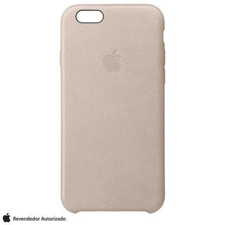 Capa para iPhone 6s Plus em Couro Areia - Apple - MKXE2BZA, Bege, Capas e Protetores, 12 meses