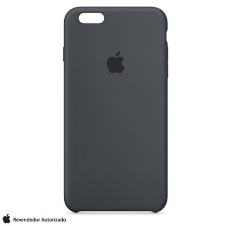 Capa para iPhone 6s Plus de Silicone Cinza Carvao - Apple - MKXJ2BZA, Cinza, Capas e Protetores, 12 meses