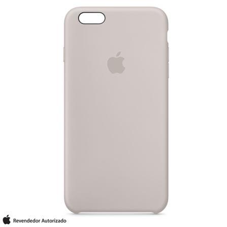 Capa para iPhone 6s Plus de Silicone Cinza - Apple - MKXN2BZA, Cinza, Capas e Protetores, 12 meses