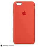 Capa para iPhone 6s Plus em Silicone Laranja - Apple - MKXQ2BZA