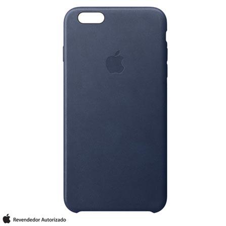 Capa para iPhone 6s em Couro Azul Meia-Noite - Apple - MKXU2BZA, Azul, Capas e Protetores, 12 meses