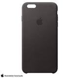 Capa para iPhone 6s em Couro Preto - Apple - MKXW2BZA