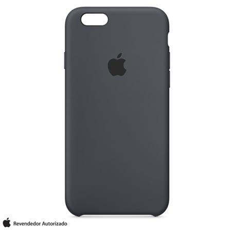 Capa para iPhone 6s em Silicone Cinza-Carvão - Apple - MKY02BZA, Cinza, Capas e Protetores, 12 meses