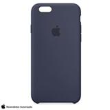 Capa para iPhone 6s em Silicone Azul Meia-Noite - Apple - MKY22BZA