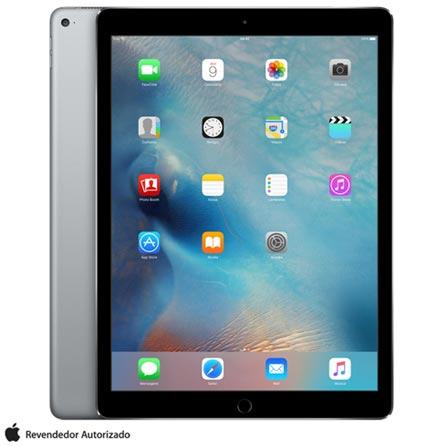 """iPad Pro Space Gray com 12,9"""", Wi-Fi, iOS, Processador A9X e 32 GB, Cinza, 0000012.90, 000032, 1, N, APPLE, 003412, A9X, iOS, 0000012.90, Sim, 8.0 MP, 32 GB, Wi-Fi, 12 meses, Sim, Sim, A9X, Não, iOS, Acima de 10'', 12.9"""